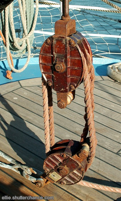 photoblog image Block and Tackle